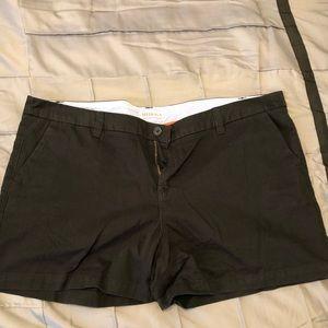 Black Merona shorts